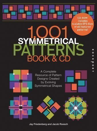 1001 Symmetrical Patterns Book and CD