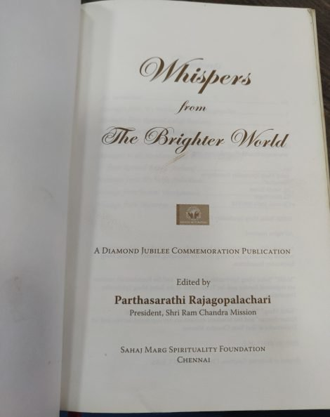 Whispers From The Brighter World 1