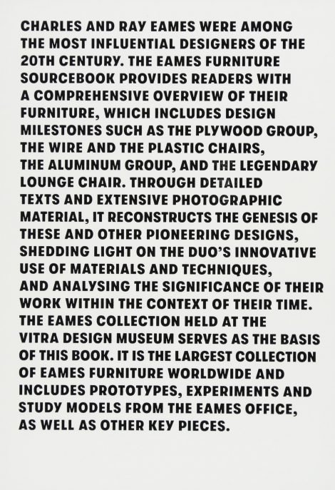The Eames Furniture Sourcebook 2