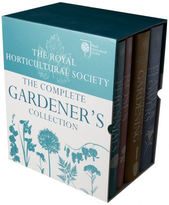ROYAL HORTICULTURAL SOCIETY;THE COMPLETE GARDENER'S COLLECTION 4 VOL. SET