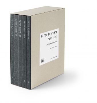 Peter Zumthor – Buildings and Projects 1986–2013 (5 Vol Set)
