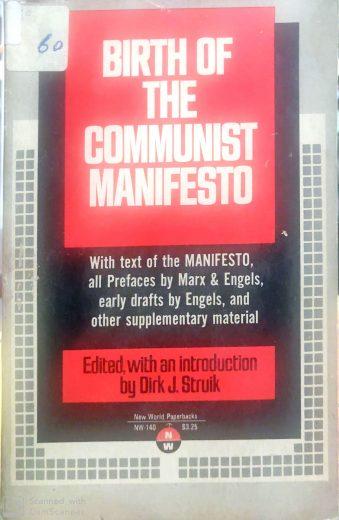Birth of the Communist Manifesto Paperback